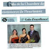 Gala de la Chambre de commerce de Fleurimont